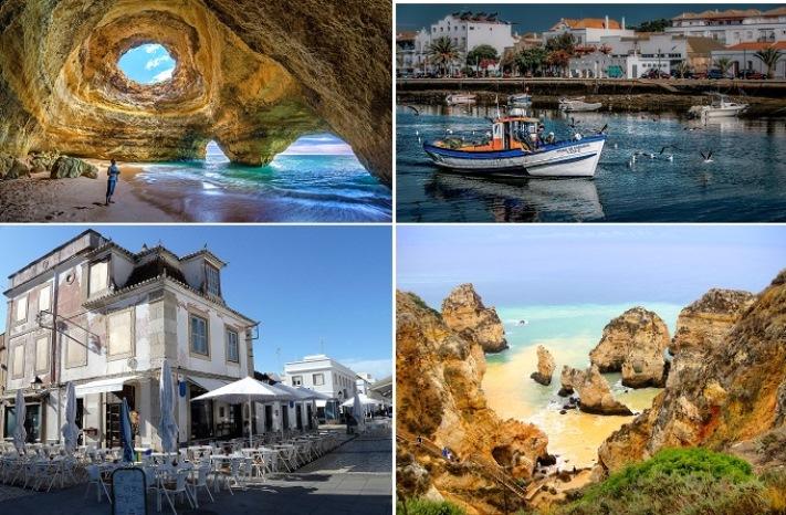 Algarve, Kréta, Mallorca